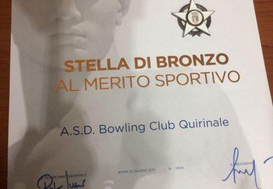 CONI: Stella di bronzo al merito sportivo
